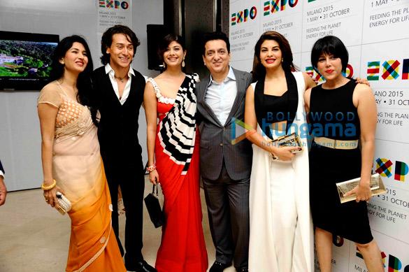 Deepti Bhatnagar, Tiger Shroff, Pooja Batra, Sajid Nadiadwala, Jacqueline Fernandez, Warda Nadiadwala