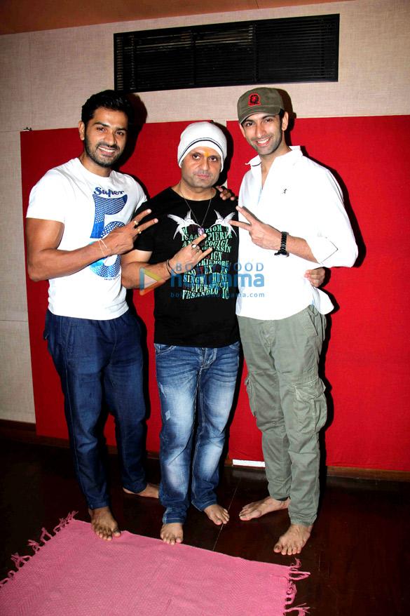 Mrunal Jain, DJ Sheizwood, Nandish Sandhu