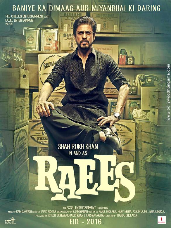 RAEES (2017) con SRK + Jukebox + Sub. Español + Online 429845064