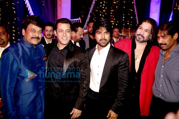 Chiranjeevi, Salman Khan, Ram Charan