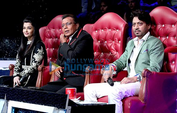 Aishwarya Rai Bachchan, Mithun Chakraborty, Irrfan Khan