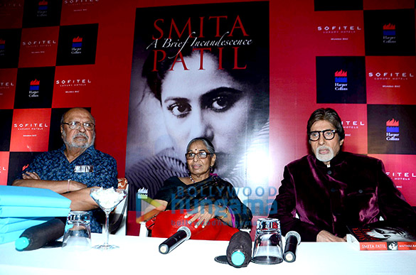 Shyam Benegal, Maithili Rao, Amitabh Bachchan
