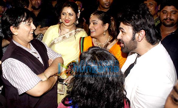 Falguni Pathak, Misti Mukherjee, Ekta Jain, Aarya Babbar