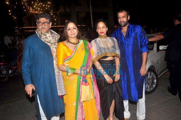 Vivek Mehra, Neena Gupta, Masaba Gupta, Madhu Mantena