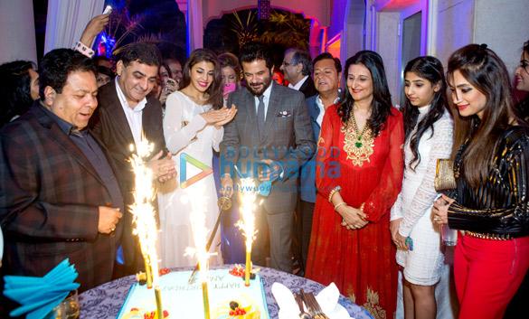 Rajeev Shukla, Ajay Sethi, Jacqueline Fernandez, Anil Kapoor, Deepna Sethi, Karishma Sethi, Lucky Morani
