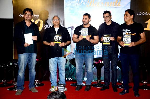Rensil Dsilva, Kamlesh Pandey, Aamir Khan, Ronnie Screwvala