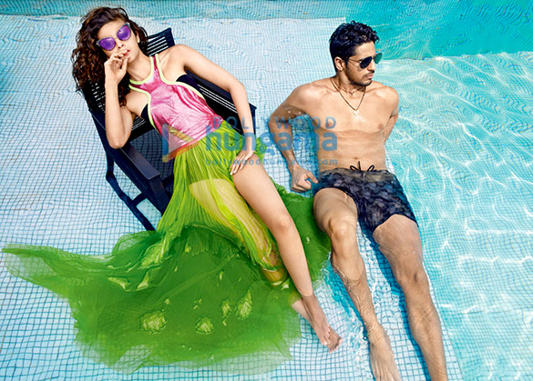 Celebrity Photo Of Alia Bhatt, Sidharth Malhotra