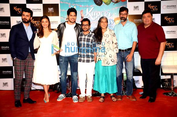 Fawad Khan, Alia Bhatt, Sidharth Malhotra, Shakun Batra, Rajat Kapoor, Ratna Pathak Shah, Rishi Kapoor