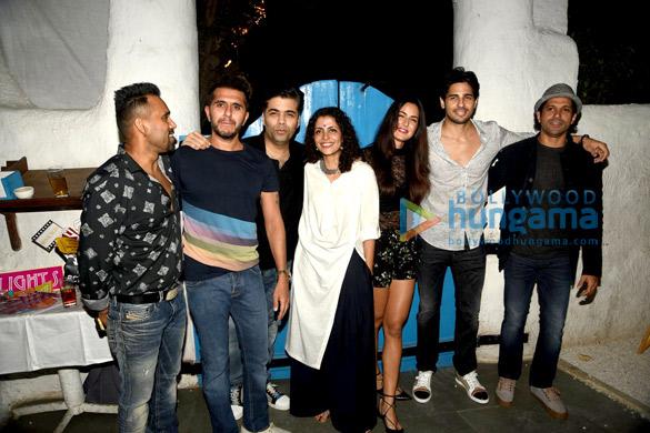 Bosco Martis, Ritesh Sidhwani, Karan Johar, Nitya Mehra, Katrina Kaif, Sidharth Malhotra, Farhan Akhtar