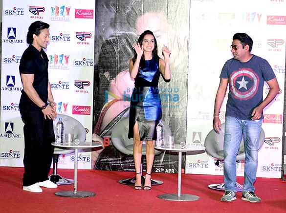 Tiger Shroff, Shraddha Kapoor, Sabbir Khan