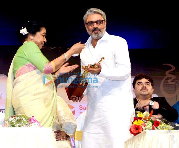 Asha Bhosle, Sanjay Leela Bhansali, Prashant Damle