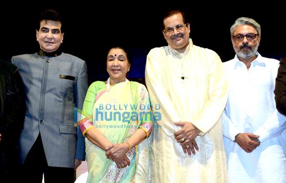 Jeetendra, Asha Bhosle, Sanjay Leela Bhansali