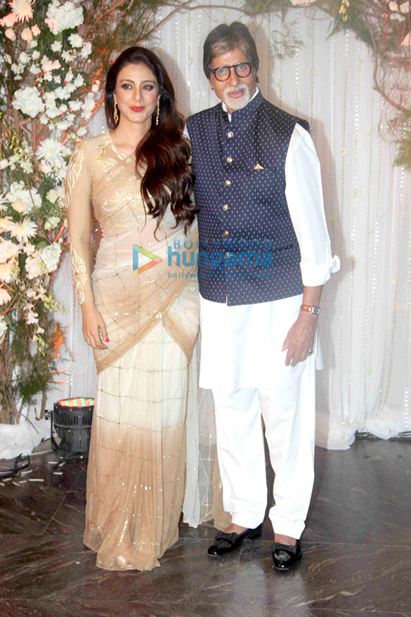 Tabu, Amitabh Bachchan
