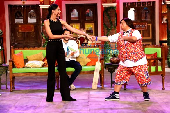 Nargis Fakhri, Emraan Hashmi, Bharti Singh
