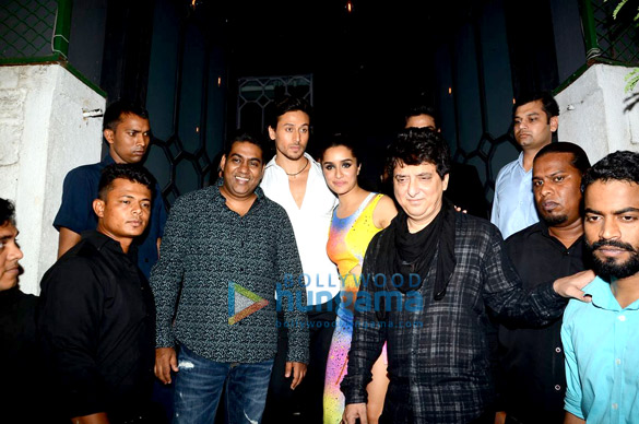 Sabbir Khan, Tiger Shroff, Shraddha Kapoor, Sajid Nadiadwala