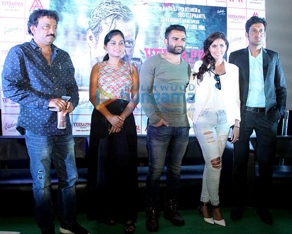 Ram Gopal Varma, Usha Jadhav, Sachiin Joshi, Lisa Ray, Sandeep Bharadwaj