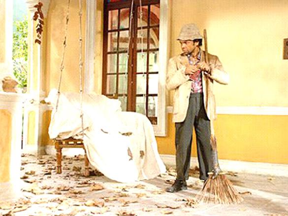 Movie Still From The Film Bhoothnath,Rajpal Yadav