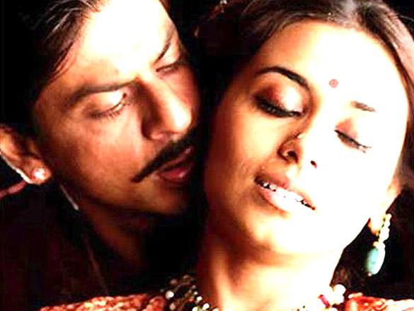 Movie Still From The Film Paheli,Shahrukh Khan,Rani Mukerji
