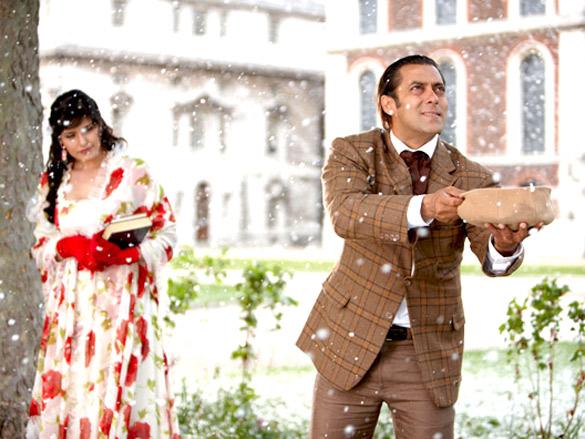 Movie Still From The Film Veer,Zarine Khan,Salman Khan