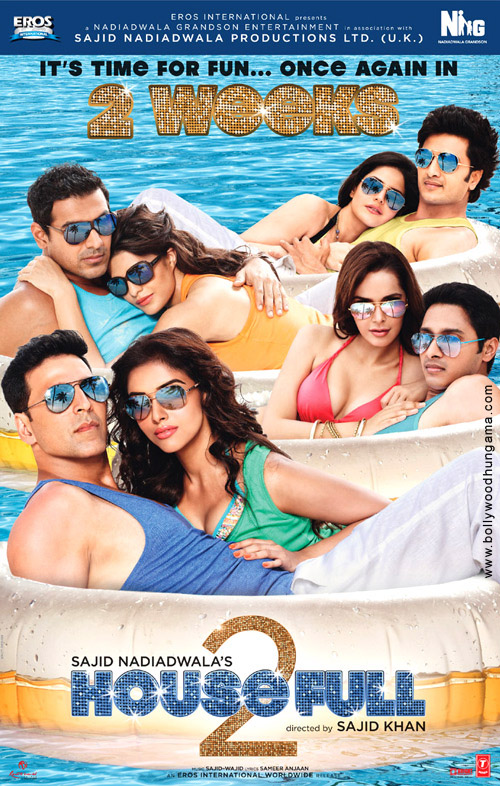 First Look Of The Movie Housefull 2