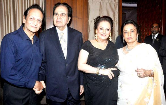 Biswajeet, Dilip Kumar, Saira Banu, Asha Parekh