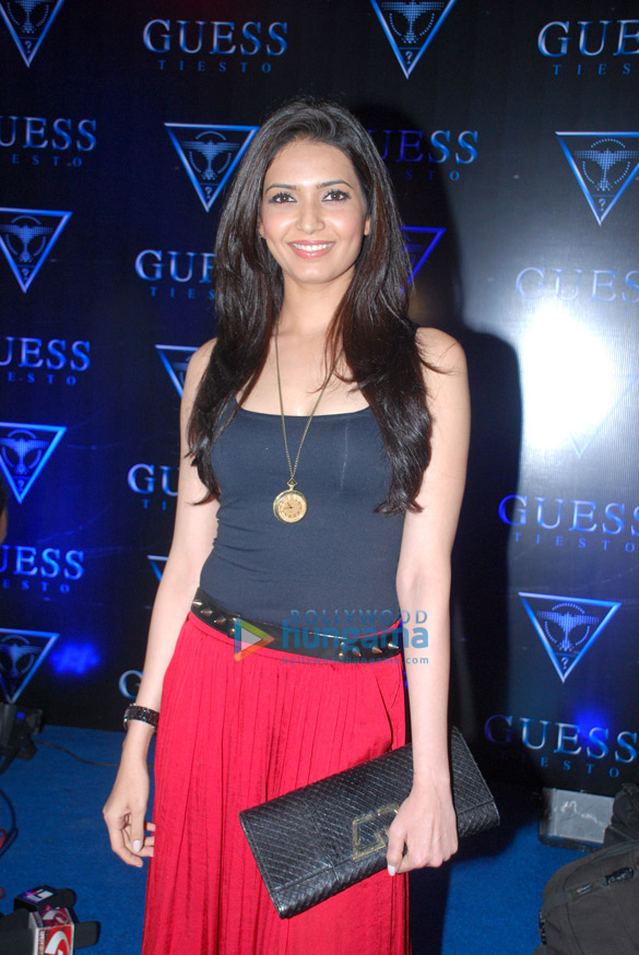 Celebrities attend launch of 'Guess Tiesto' collection