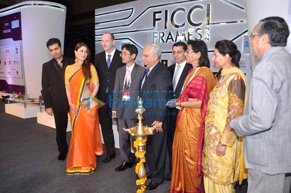 Karan Johar, Kareena Kapoor, Andy Bird, Ramesh Sippy, Uday Shankar, Naina Lal Kidwai, Preneet Kaur