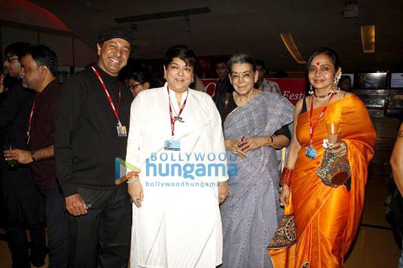 Sridhar Rangayan, Kalpana Lajmi, Lalitha Lajmi, Sujata Patel