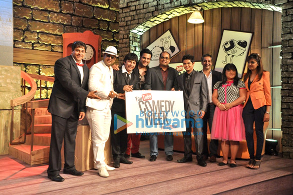Cyrus Broacha, Sudesh Lehri, Krishna Abhishek, Sandeep Menon, Siddharth Sagar, Gautam Anand, Bharti Singh