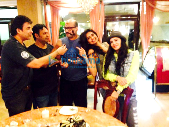 Deepak Tijori,Mohan Kapoor,Karishma Tanna,Sunny Leone