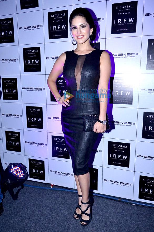 Kangna, Celina & Sunny Leone grace India Resortwear Fashion Week 2013 – Day 1