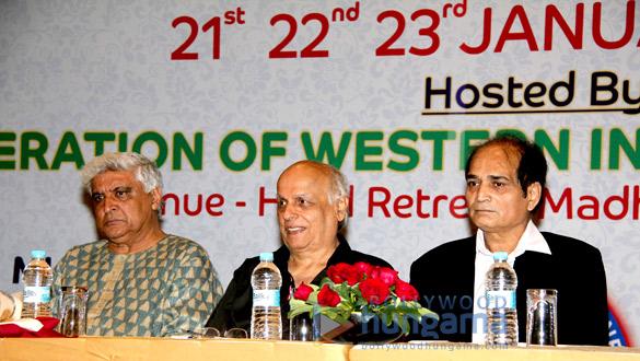 Javed Akhtar, Mahesh Bhatt, Dharmesh Tiwari