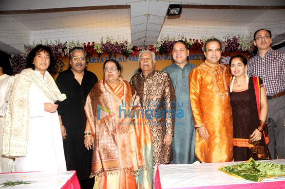 Ustad Zakir Hussain, Hariharan, Ustad Ghulam Mustafa Khan, Shri Dilip Walse- Patil, Suresh Wadkar, Padma Wadkar