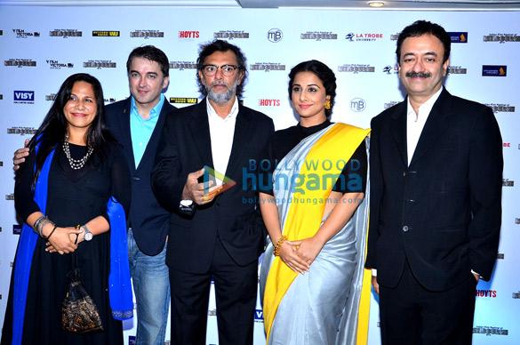 Jugal Hansraj, Rakeysh Omprakash Mehra, Vidya Balan, Rajkumar Hirani