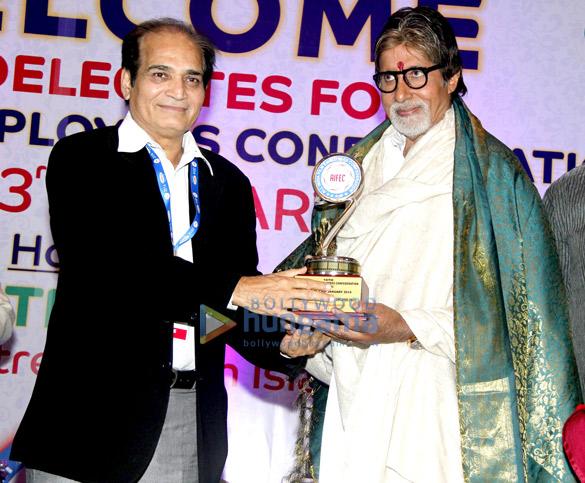 Dharmesh Tiwari, Amitabh Bachchan