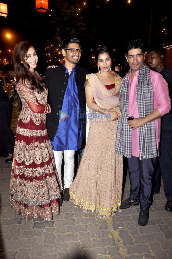 Urmila Matondkar, Niranjan Iyengar, Sophie Choudry, Manish Malhotra