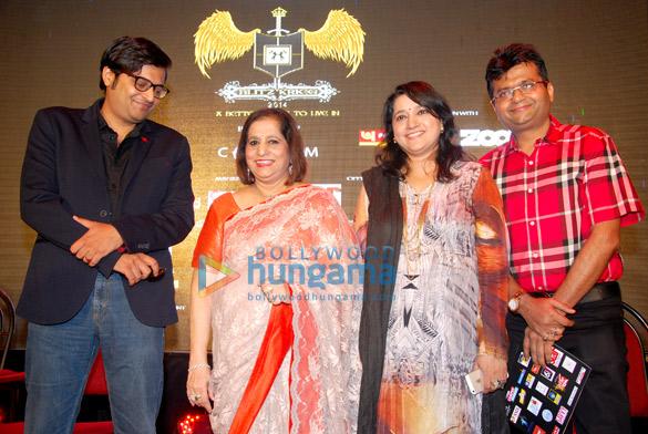 Arnab Goswami, Manju Nichani, Kavita Seth, Aneel Murarka