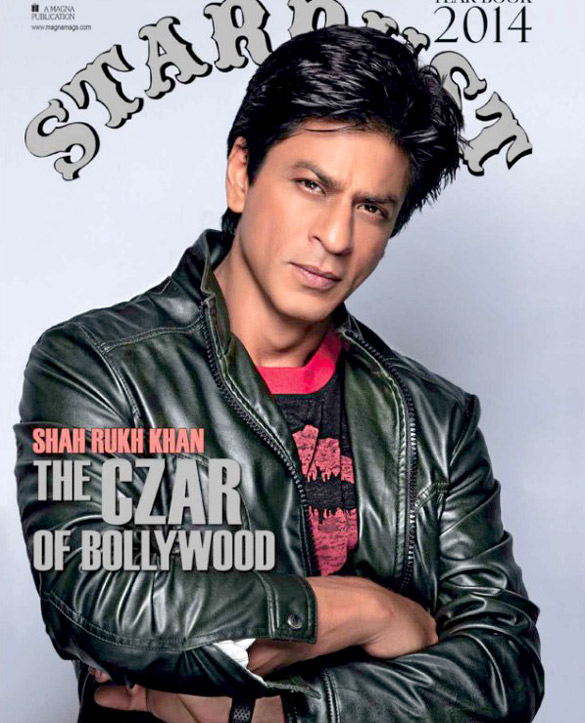 Shah Rukh Khan On The Cover Of Stardust,Dec 2014