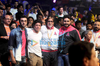 Shah Rukh Khan, Ranbir Kapoor and Virat Kohli grace the opening ceremony of Pro Kabaddi League along with Amitabh Bachchan and Abhishek Bachchan