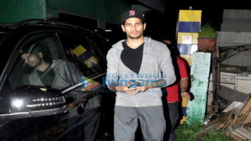 Aditya Roy Kapur, Varun Dhawan, Sidharth Malhotra & Katrina Kaif snapped post 'Dream Team Concert' dance practice