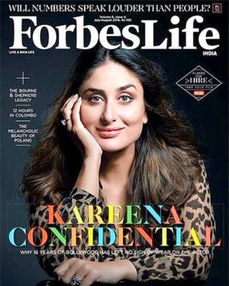On the covers Of Kareena Kapoor Khan