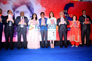 Shah Rukh Khan & Nita Ambani unveil Gunjan Jain's book 'She Walks She Leads'