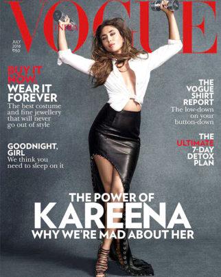 Kareena Kapoor Khan On The Cover Of Vogue