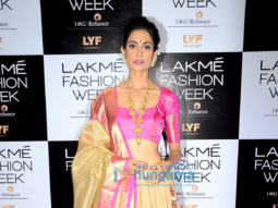 Celebs on Lakme Fashion Week 2016 red carpet - Day 2