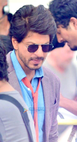 On The Sets Of The Movie Shah Rukh Khan-Imtiaz Ali's Next