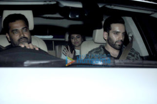 Celebs snapped at the special screening of 'Rustom' by Akshay Kumar