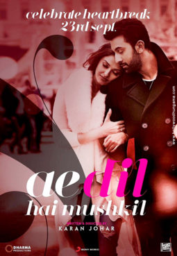 First Look Of The Movie Ae Dil Hai Mushkil