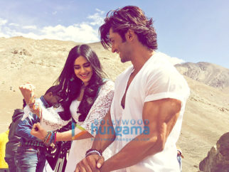 On The Sets Of The Movie Commando 2