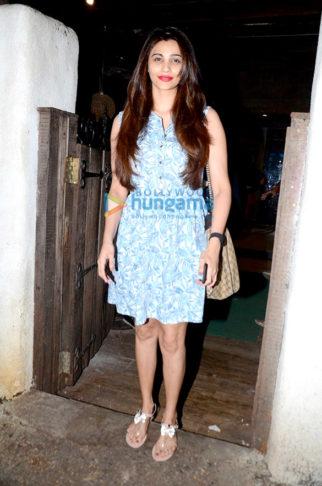 Daisy Shah snapped post spa session at Hakim Aalim