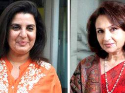 Farah Khan and Sharmila Tagore